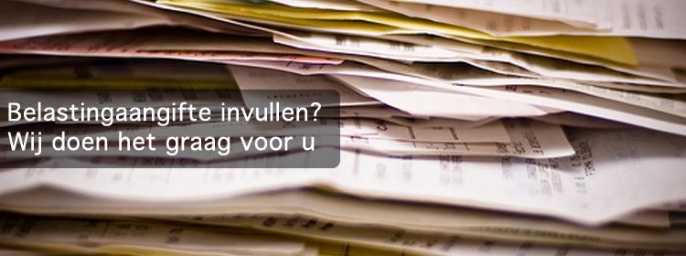 Uw boekhouder in Den Haag helpt u met uw belastingaangifte